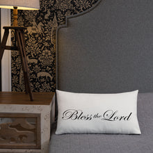 Bless the Lord Pillow
