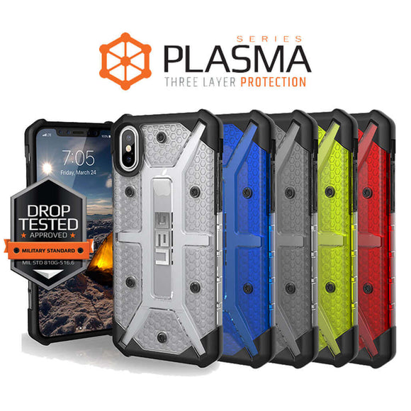 UAG Plasma Military Drop Tested Cases for iPhone and Samsung