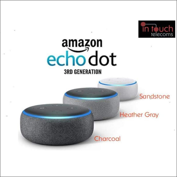 5x Echo Dot - Smart speaker with Alexa | 3rd Generation | In Touch Telecoms Ltd