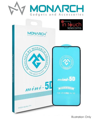 Monarch Premium 5D Tempered Glass for iPhone 11 / XR | Screen Protection | In Touch Telecoms Ltd