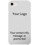 iPhone 8/7 Case - Your Logo with Optional Message | In Touch Telecoms Ltd