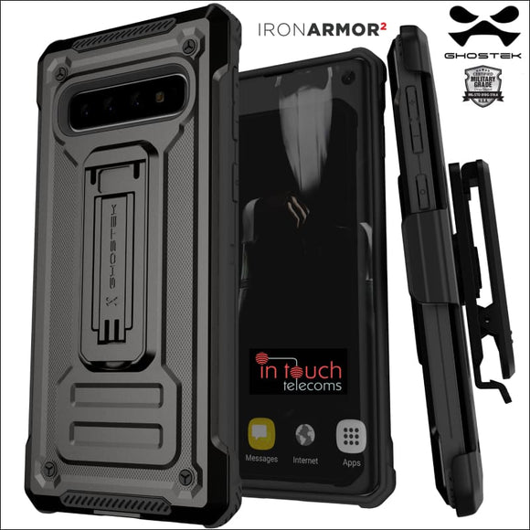 Ghostek Armor2 Case for Samsung Galaxy S10 | Tough Rugged Military Drop Tested | In Touch Telecoms Ltd