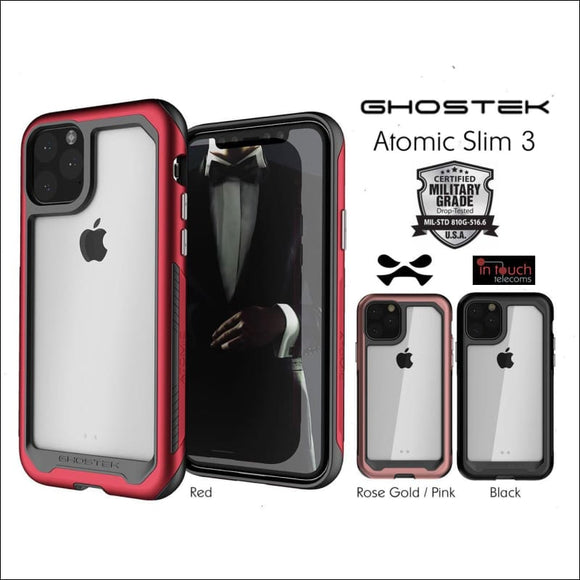 Ghostek Atomic Slim 3 Case for iPhone 11 Pro Max | Military Drop Tested | In Touch Telecoms Ltd