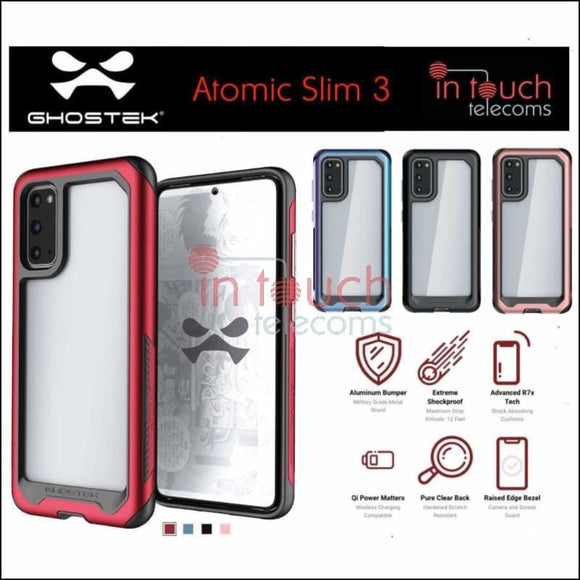 Ghostek Atomic Slim 3 Case for Samsung Galaxy S20 Ultra | Military Drop Tested | In Touch Telecoms Ltd