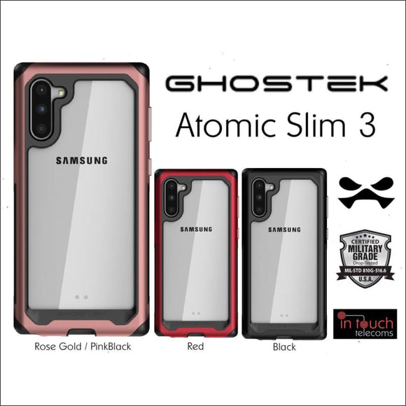 Ghostek Atomic Slim 3 Case for Samsung Note 10 | Military Drop Tested Case | In Touch Telecoms Ltd