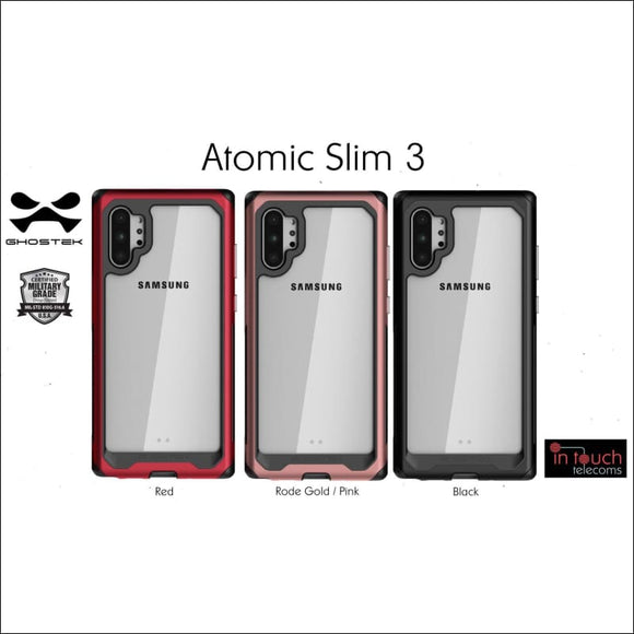 Ghostek Atomic Slim 3 Case for Samsung Note 10+ | Military Drop Tested Case | In Touch Telecoms Ltd