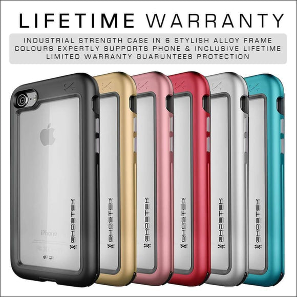 Ghostek Atomic Slim Case for iPhone 8/7/SE | Military Drop Tested Rugged | In Touch Telecoms Ltd