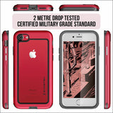Ghostek Atomic Slim Case for iPhone 8/7/6S Plus | Military Drop Tested Case | In Touch Telecoms Ltd