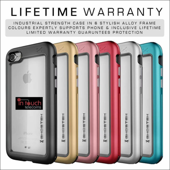 Ghostek Atomic Slim Case for iPhone XS / X | Military Drop Tested Rugged Case | In Touch Telecoms Ltd