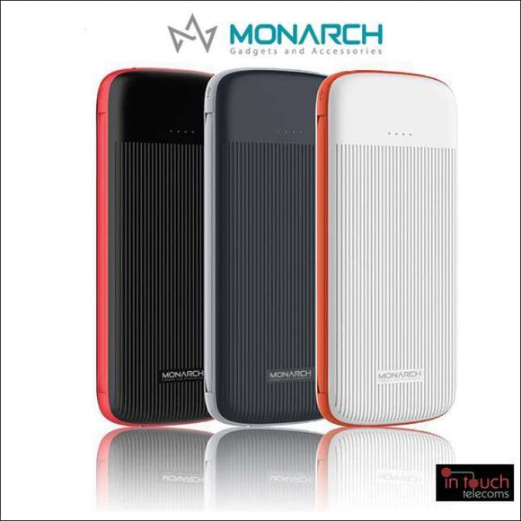 Monarch Gadgets Infinity Power Bank with Dual Output 10000mAh Capacity | In Touch Telecoms Ltd