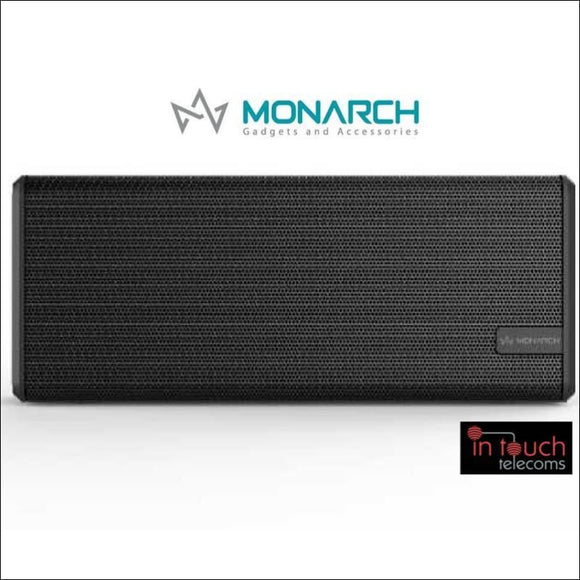 Monarch Gadgets Wireless Portable Speaker - Black | Bluetooth Speaker | In Touch Telecoms Ltd