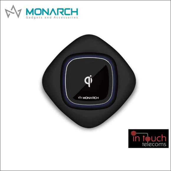 Monarch PowerBase Q1 Qi Wireless Charging Pad | Fast Charge | In Touch Telecoms Ltd