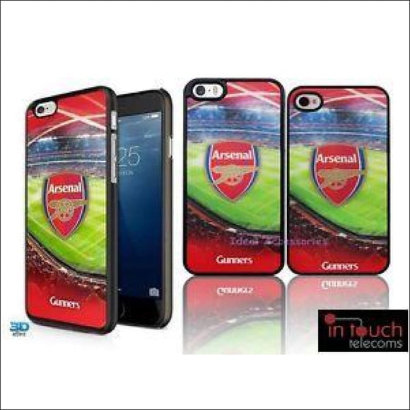 Official Arsenal Football Club 3D Holographic Case for iPhone 8/7 | In Touch Telecoms Ltd