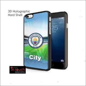 Official Manchester City Football Club 3D Holographic Case for iPhone 8/7 | In Touch Telecoms Ltd