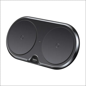 QI 10W Dual Fast Wireless Charger | Charging Pad Dock Station | In Touch Telecoms Ltd