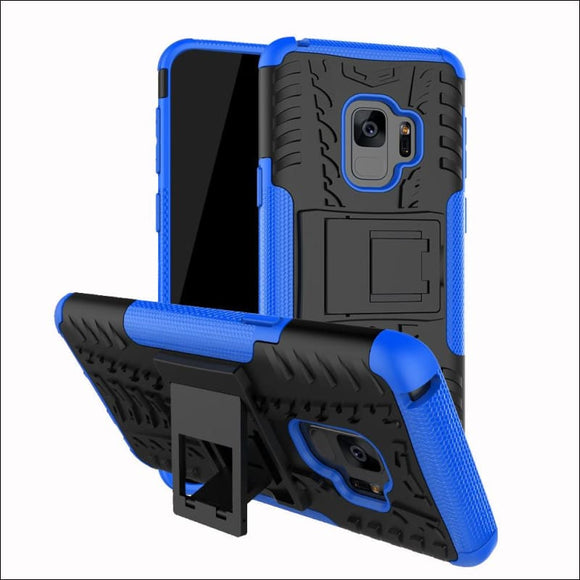 Shockproof Heavy Duty Stand Case Skin Cover For Samsung Galaxy S9 (5.8 inch) | In Touch Telecoms Ltd