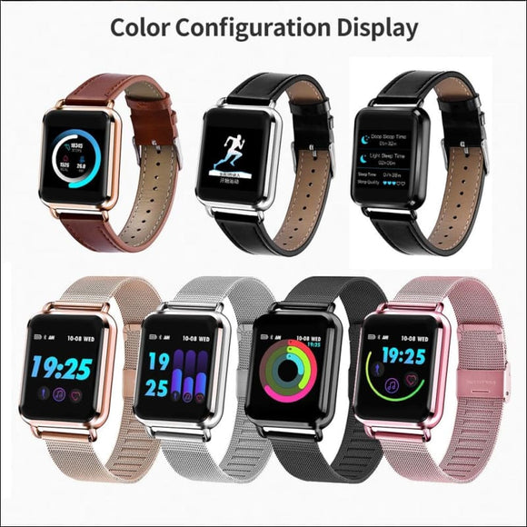 Sports Fitness Smartwatch for Apple Samsung Huawei | Rose Gold, Silver, Black | In Touch Telecoms Ltd