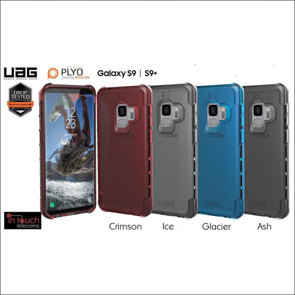 UAG Plyo Case for Samsung Galaxy S9 Plus | Military Drop Tested Case | In Touch Telecoms Ltd