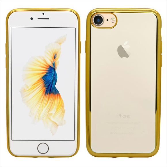 Xquisite iPhone 8/7/SE Metallic Bumper Case - Gold | In Touch Telecoms Ltd
