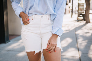 501 MID-THIGH SHORT