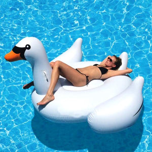 Floats - White Swan Float - SummerHaus