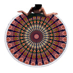 Beach Towel - Bohemian Round Beach Towel - SummerHaus
