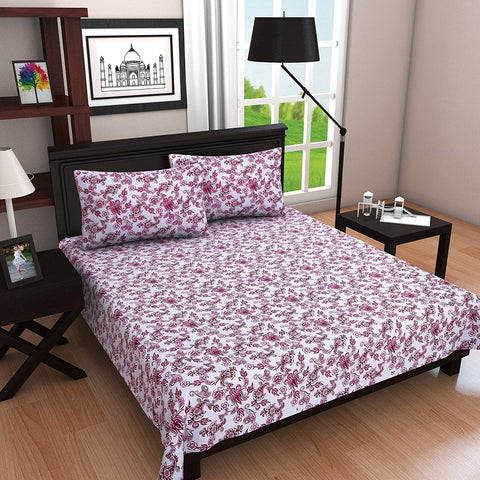 Single Bed Sheet Combo With Pillow Covers