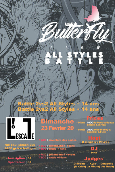 Butterfly Flow 🦋Battle All Style Vol 1