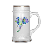 Vibestyle Antique Elephant Beer Stein