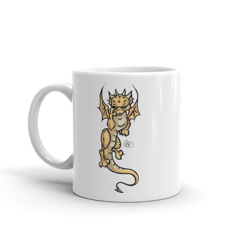 Cool Dragon Mug - artmallow