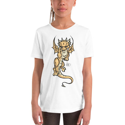 Kids T-Shirt - Cool Dragon - artmallow