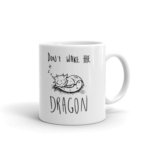 Mug - Don't Wake the Dragon - artmallow