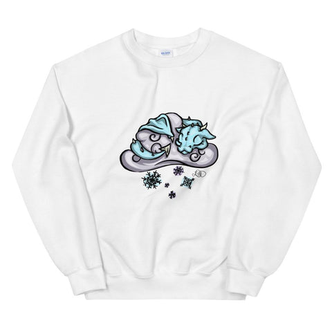 Unisex Sweatshirt - Snow Cloud Dragon - artmallow