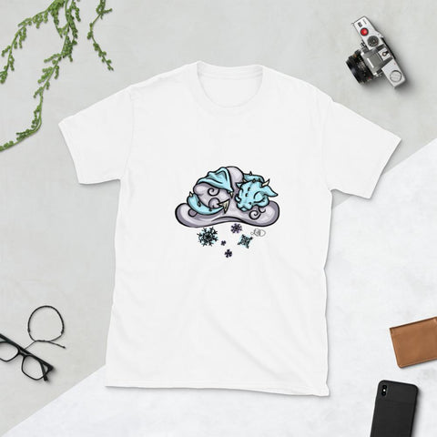 Unisex T-Shirt - Snow Cloud Dragon - artmallow