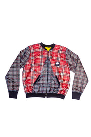 BOMBER JACKET RED M