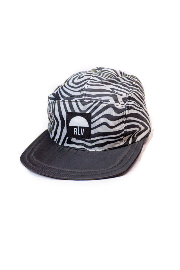 BONÉ FIVE PANELS ZEBRA