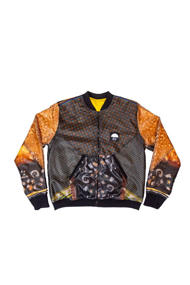 BOMBER JACKET COFFEE M