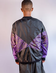 BOMBER JACKET PURPLE G