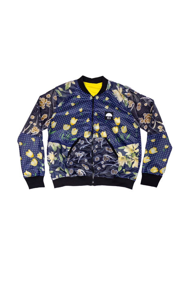 BOMBER JACKET FLOWER FIELD M