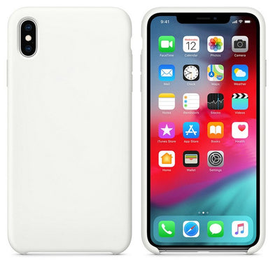 Silicone Case 'Ice White' ALL iPhone's - Case Discounter®