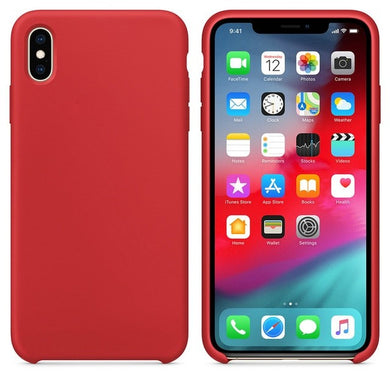 Silicone Case 'Red' ALL iPhone's - Case Discounter®