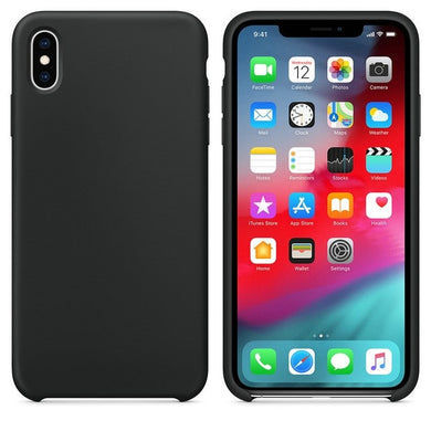 Silicone Case 'Black' ALL iPhone's - Case Discounter®