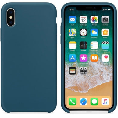 Silicone Case 'Cosmos Blue' ALL iPhone's - Case Discounter®
