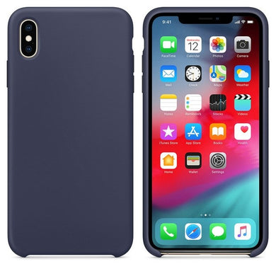 Silicone Case 'Midnight Blue' ALL iPhone's - Case Discounter®