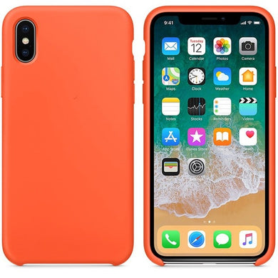 Silicone Case 'Spicy Orange' ALL iPhone's - Case Discounter®
