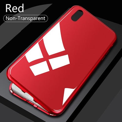 360° Rood Non-Transparant Hoesje ALLE iPhone's - Case Discounter®