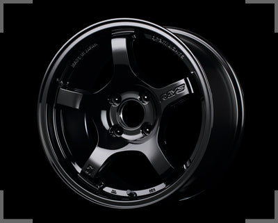 Rays Gramlights - 57CR Wheels - 15x8 +28mm 4x100 - Glossy Black - Set of 4 Wheels