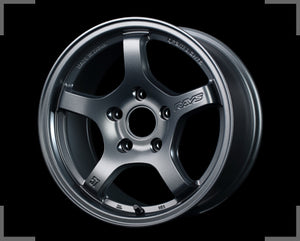 Rays Gramlights - 57CR Wheels - 15x8 +35mm 5x114.3 - Gun Blue 2 - Set of 4 Wheels