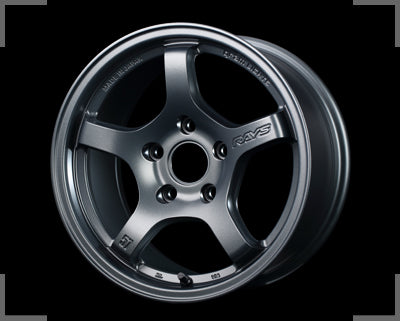 Rays Gramlights - 57CR Wheels - 15x8 +28mm 5x114.3 - Gun Blue 2 - Set of 4 Wheels