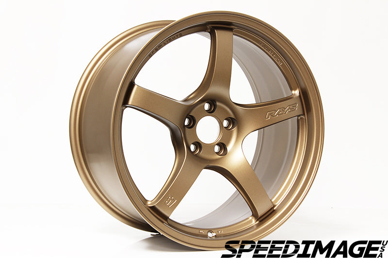 Rays Gramlights - 57CR Wheels - 18x9.5 +22mm 5x114.3 - Bronze - Each Wheel